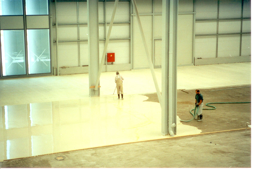 Eurolit magnesite screed floors ensuring the success of the floor construction tyukafo